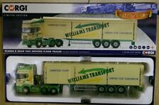 Corgi CC13746 Scania R Moving Floor Trailer Williams Trans. Ltd Ed 0001 of 1000