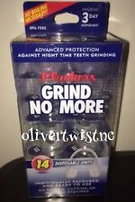 BRAND NEW Plackers Grind No More Dental Night Protector 14 Ct Sealed in Box
