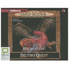 Deltora Quest: Return to Del 8 by Emily Rodda (2013, CD, Unabridged)
