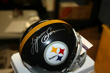 PITTSBURGH STEELERS LYNN SWANN SIGNED MINI HELMET HOF 2001 JSA!