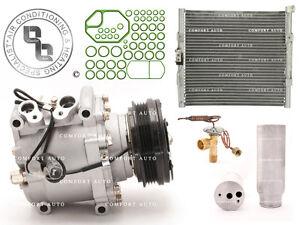 AC Compressor Kit With Condenser Fits: 95 Honda Civic 1.5L 1.6L Coupe& Hatchback