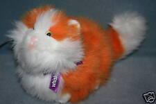 "Whiskas Plush ""CHUCK"" Gund Orange & White Kitty Cat Plush Toy Doll 1999 RARE"