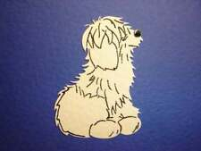 SMALL SHEEP DOG DIE CUTS FOR CARD TOPPERS