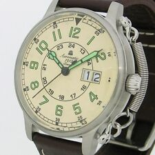BIG-DATE Habicht German RETRO AVIATOR Feather Crown protection A1289