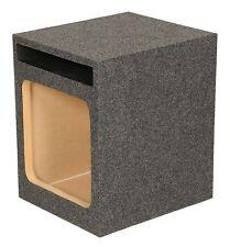 "Q Power Hd112 12"" Single Heavy Duty Vented Square Subwoofer Sub Enclosure Box"