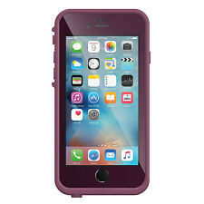 Genuine LifeProof Fre Dust Shock Waterproof Case Cover iPhone 6 6s Purple