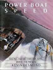 Power Boat Speed Racing & Record Breaking 1897 on Bluebird Campbell Leo Villa +