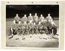 1944-1945 NEW YORK ROVERS Eastern Hockey League Hockey team photo