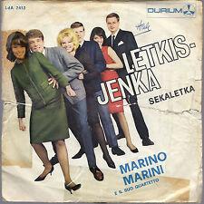 LETKIS-JENKA - SEKALETKA # MARINO MARINI e il suo Quartetto