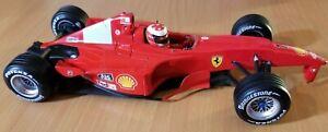 Hotwheels Ferrari F1 2000 1:18 scale Michael Schumacher Collection broken/flaws