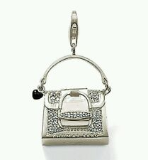 NEW Genuine Thomas Sabo Sterling Silver CZ Glittery Hand Bag Pendant T0119