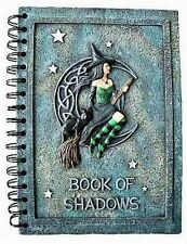Blocco appunti the Witches Book of Shadows in pietra d'arte (POLIRESINA)