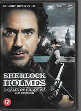 DVD ZONE 2--SHERLOCK HOLMES 2 - JEU D'OMBRES--DOWNEY JR/LAW/RITCHIE