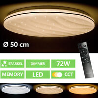 Luz De Techo LED Diurna Estrellas Cielo Efecto Dormir Niños Habitación Lámpara