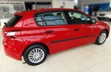 Türschutzleisten Rammschutz für Peugeot 308 Hatchback 5-Türer 2013-