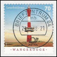 Leuchtturm Wangerooge 70 Cent - gestempelt - selbstklebend - Mi.Nr. 3396