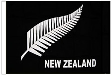 New Zealand Silver Fern Sleeved Courtesy Flag ideal for Boats 45cm x 30cm