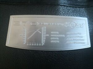 HOLDEN HSV 370KW  LS2 Engine Cover Decal (Limited Run)