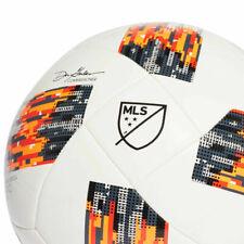 Adidas Mls Glider Size 3 Soccer Ball - White & Solar Orange Match Replica Nativo