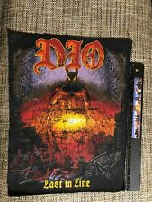 Dio Last in Line original 80's vintage rare backpatch used