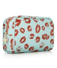 New Lip Print Macys Cosmetic Bags Pouches Brand New With Tags