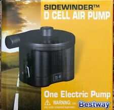 Sidewinder Air Pump D-Cell Pool Camping Mattress Inflator New Never Used.