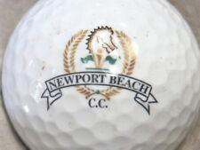 (1) Newport Beach Country Golf Course Logo Golf Ball
