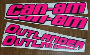 Can-Am and Outlander Logos (with Background)
