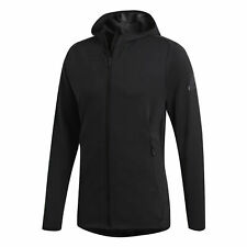 Adidas Mens Freelift Climacool Hoodie Sports Track Top Black CZ5290