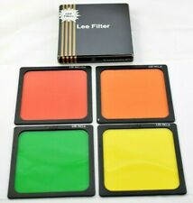 Lee Filter 100x100mm Polyester Black and White Set Filters 11,8,21 & 23A    #A15