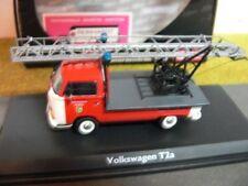 """1/43 Schuco VW T2a """"Feuerwehr"""" mit Drehleiter 03341"""