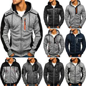 Herren Kapuzenpullover Sweatjacke Sweatshirt Pullover Hoodie Mix BOLF 1A1 Motiv