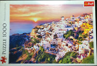 1000 Piece Jigsaw Puzzle - Trefl Puzzle - Sunset Over Santorini