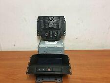 Vauxhall Astra J 2010 CD400 OEM Radio CD AUX Head Unit & Display Control Unit
