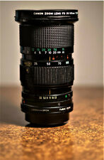 Canon FDn Zoom Lens 35-105mm f3.5 Macro with a Fuji X adapter. !!FREE SHIPPING!!