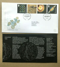 GREAT BRITAIN 1999 SCIENTISTS' TALE SET 4 STAMPS FDC FIRST DAY COVER