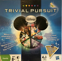 EXCELLENT Trivial Pursuit Disney game - 2011 - ages 8+ - Family Fun Night