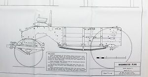 Wagon Master Buckboard Western Dump Wagon Vintage 1980's Model Plans Stage Coach