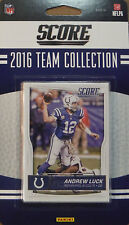 Indianapolis Colts 2016 Score EXCLUSIVE Factory Sealed Team Set Andrew Luck plus