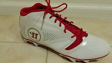 New Warrior Lacrosse Burn 7.0 Mid-Cut Cleats Sz 13