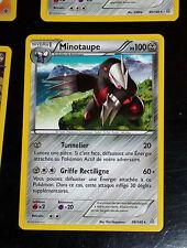 TCG POKEMON RARE CARD CARTE 96/160 MINOTAUPE FR PV100 PRIMO CHOC