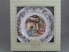 """ROYAL DOULTON BRAMBLY HEDGE 6 1/4"""" WINTER PLATE, BOXED."""