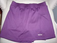 REEBOK WOMAN'S PURPLE TENNIS SKIRT ATHLETIC GOLF SIZE XS