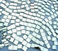 1000 Mosaic MIRROR Tiles 1cm x 1cm great highlights CRAFTS