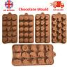 Silicone Chocolate Mould Cake Hearts Decorating Mold Birthday Topper Fondant UK