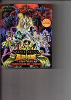Saint Seiya COMPLETE BOX SET + 5 Movie Anime Serie DVD
