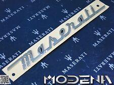 Maserati Schriftzug Trunk Emblem Sign Kofferraum Ghibli M157 Levante Modell