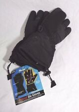Polar EX Battery Heated Ski Gloves One Size Fits Most Black PolarEX  NEW