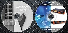 1.550 Patches Avid Eleven Rack Multi Effects Processor. & 48.328 Guitar Tab