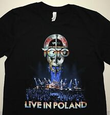 New TOTO 35th Anniversary Live From Berlin 2014 Tour Concert T-shirt Sz M